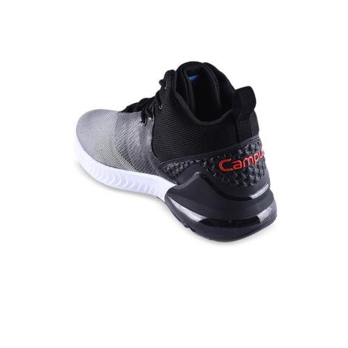 Campus Men Grey Running Shoes