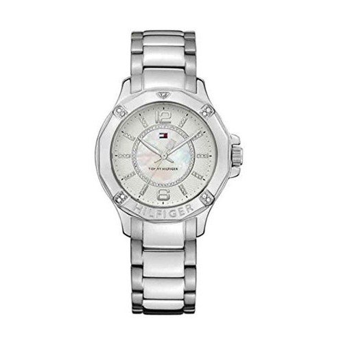 Tommy Hilfiger Analog White Dial Women's Watch - NTH1780911J