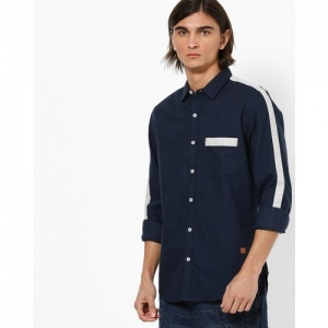 UNITED COLORS OF BENETTON Slim Fit Shirt with Contrast Taping