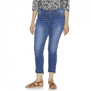 Gia Curve by Westside Mid Blue Jeans