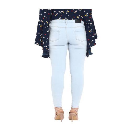 Park Avenue Blue Slim Fit Raw Denim Jeans