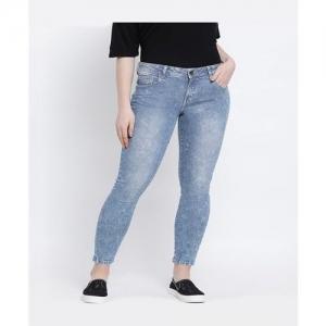 United Colors of Benetton Blue Cotton Jeans
