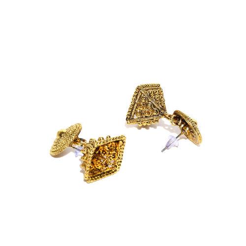 Zaveri Pearls Gold-Toned Beaded Jewellery Set
