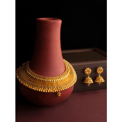 Rubans Gold-Plated Handcrafted Jewellery Set