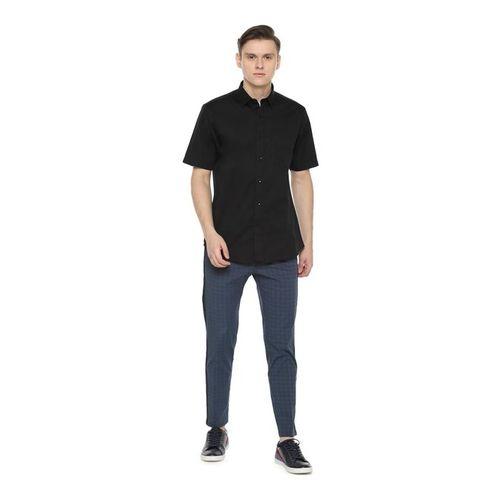 Allen Solly Black Slim Fit Shirt