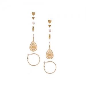 ToniQ Set of 6 Earrings