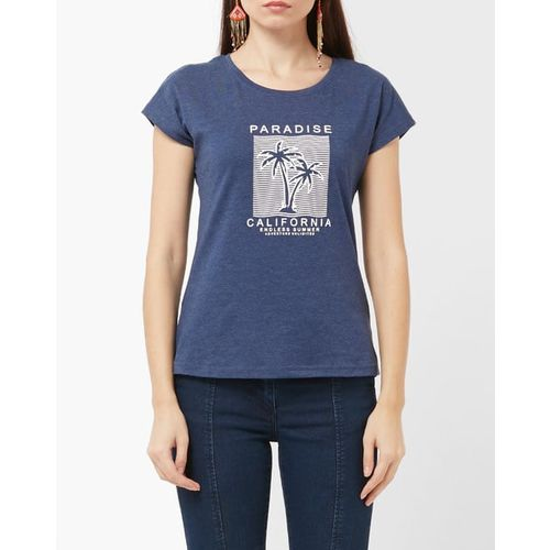 Teamspirit Graphic Print Crew-Neck T-shirt
