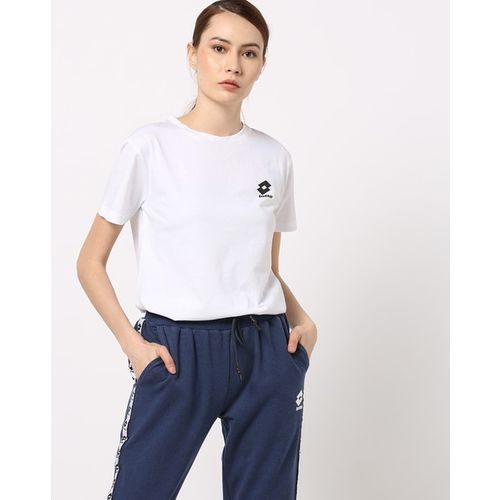 LOTTO Crew-Neck T-shirt with Vented Hem