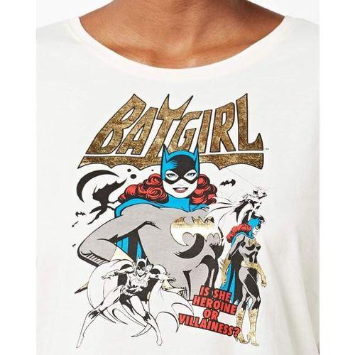 Warner Brothers Batgirl Print Crew-Neck T-shirt