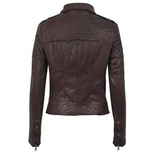 NOORA Women's Pure Leather Jacket