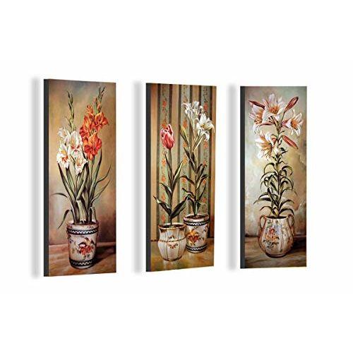 SAF 'Digital' Reprint Painting (Synthetic, 36 cm x 45 cm x 3 cm, Multi Colour, Set of 3)
