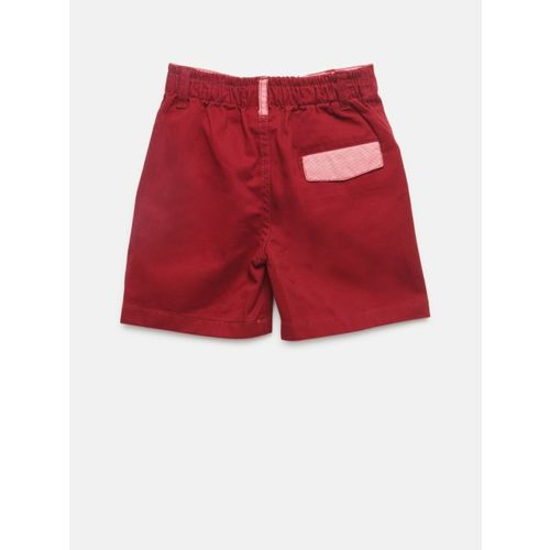 612 league Boys Maroon Shorts