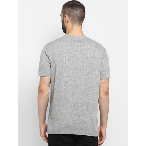 Red Tape Men Grey Printed Round Neck T-shirt