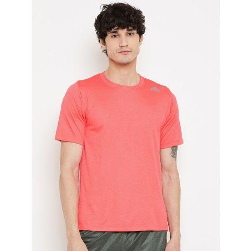 ADIDAS Men Neon Pink FL_360 Z FT CHL Solid Training T-shirt