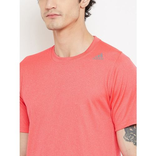 ADIDAS Men Neon Pink FL_360 Z FT CHL Solid Training T-shirt