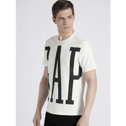 GAP Men's 3D Overlap Logo Crewneck T-Shirt