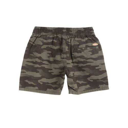 612 League Kids Olive Camouflage Shorts