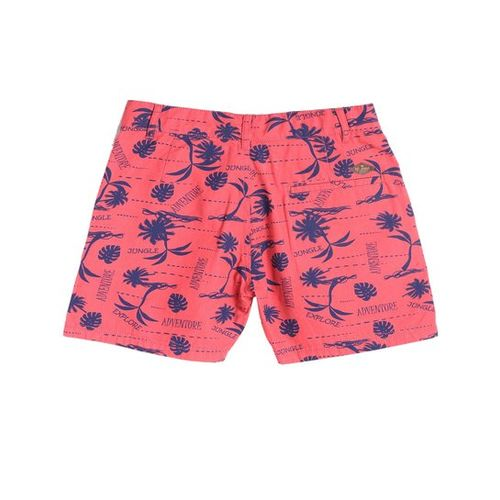 612 League Kids Coral Printed Shorts