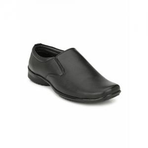 Ferraiolo Men Black Formal Shoes