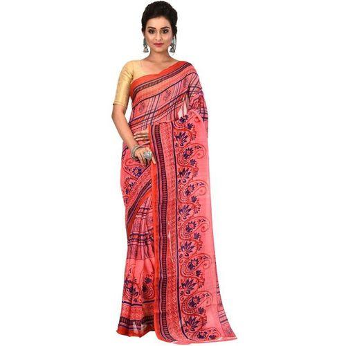 Aahiri Printed Fashion Chiffon Saree(Pink)
