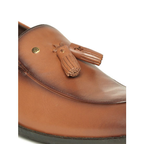 Blackberrys Men Tan Brown Leather Semiformal Slip-Ons
