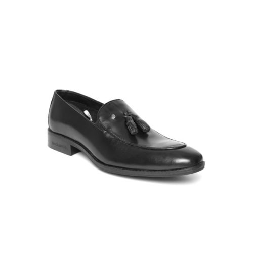 Blackberrys Men Black Leather Semiformal Slip-Ons