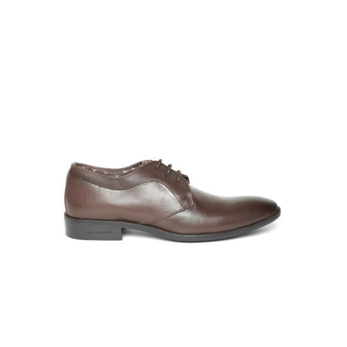 Blackberrys Men Brown Leather Formal Derbys