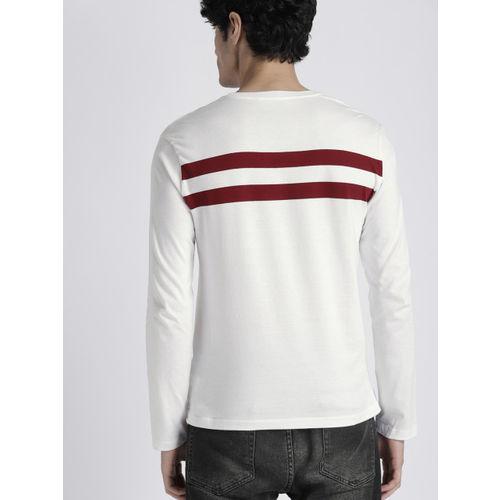 GAP Men's Striped Long Sleeve T-Shirt