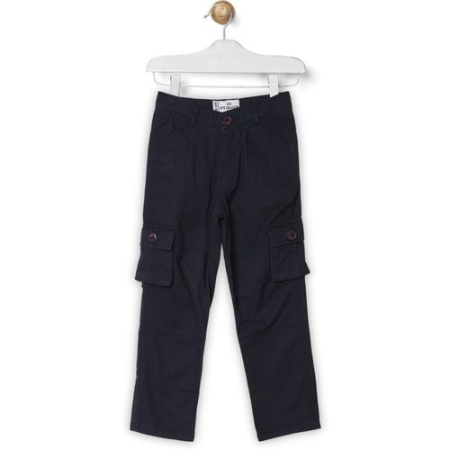 612 League Regular Fit Boys Dark Blue Trousers