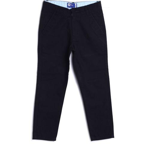 612 League Regular Fit Boys Black Trousers
