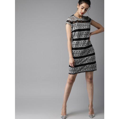 Moda Rapido Women A-line Grey Dress