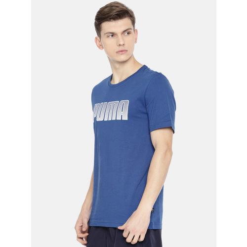 Puma Men Blue KA Printed T-Shirt