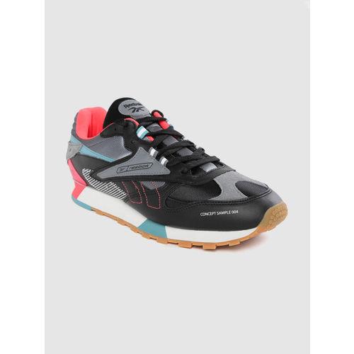 Reebok Classic Unisex Black & Grey Leather ATI 90s Sneakers
