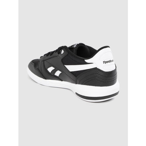 Reebok Classic Men Black Leather Unphased Pro Sneakers