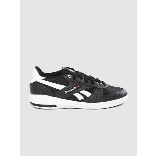 Reebok Classic Men Black Leather Unphased Pro Sneakers