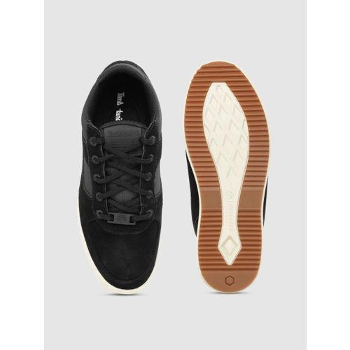Timberland Men Black Cityroam Super Oxford Sneakers