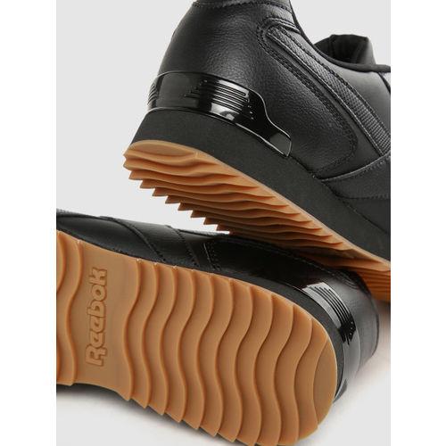 Reebok Classic Men Black Royal Glide Sneakers