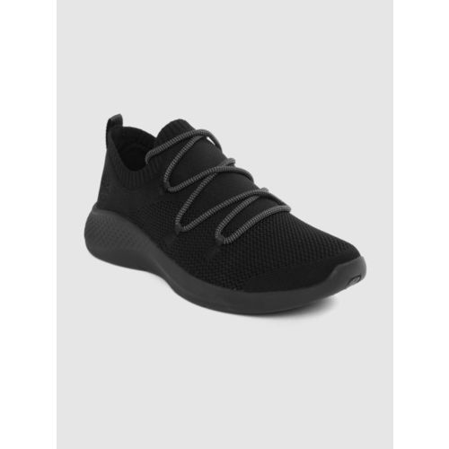 Timberland Men Black FlyRoam Go Jacquard Knit OX Sneaker