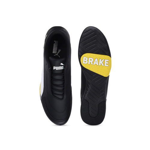 Puma Unisex Black SF Kart Cat III Sneakers