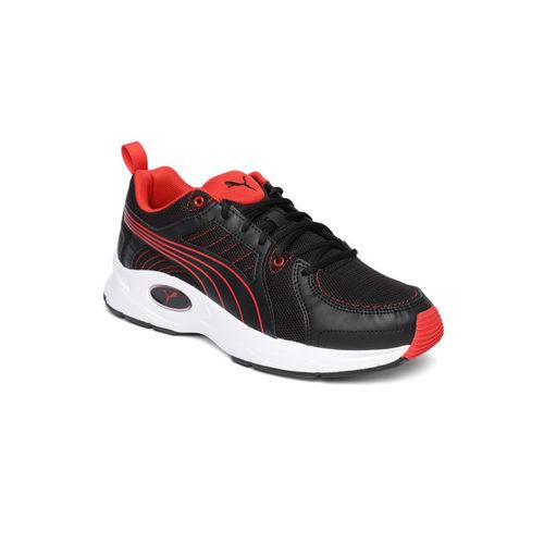 Puma Unisex Black Nucleus Run Sneakers