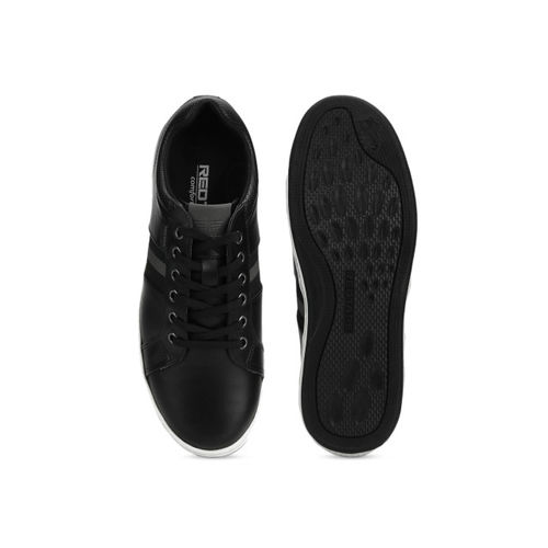 Red Tape Men Black Sneakers