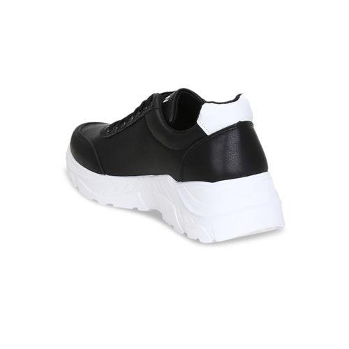 Get Glamr Men Black Sneakers