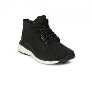Timberland Men Black Textured Altimeter F/L Sneakers