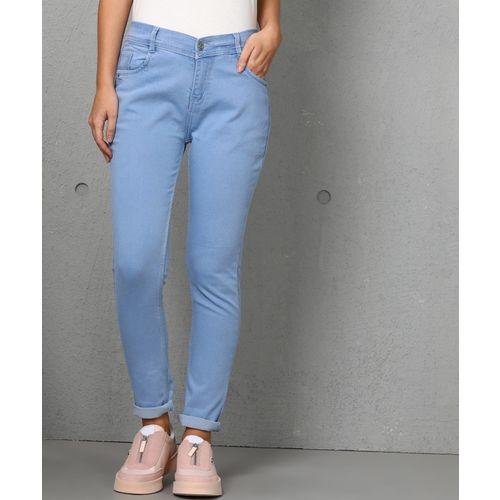 Metronaut Slim Women Light Blue Jeans