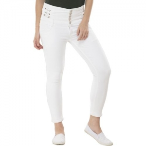 Perfect Outlet Skinny Women White Jeans