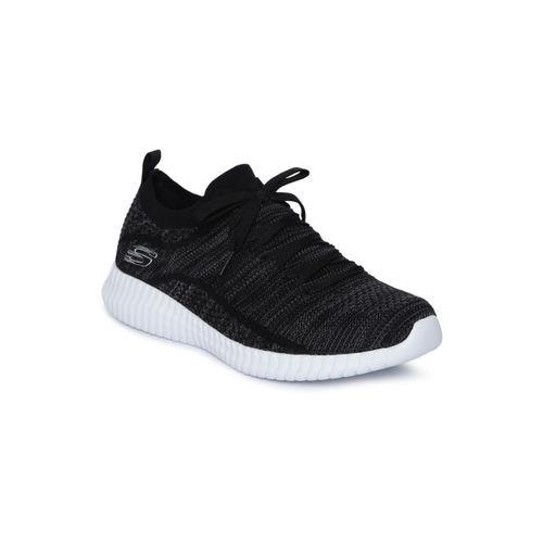 Skechers Men Black ELITE FLEX Sneakers