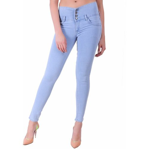 Ansh Fashion Wear Regular Women Light Blue Jeans