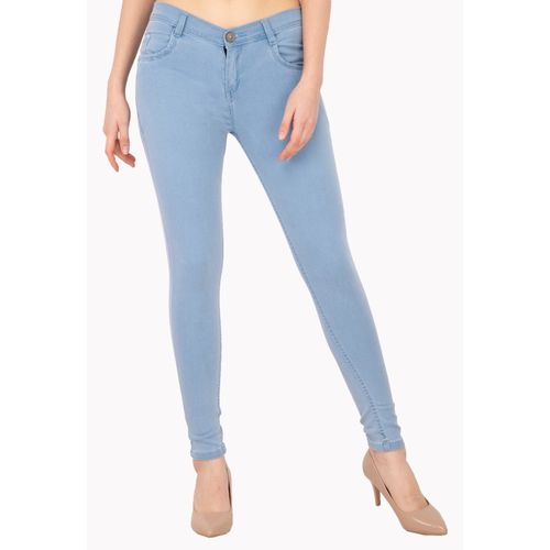 AAKRITHI Skinny Women Light Blue Jeans