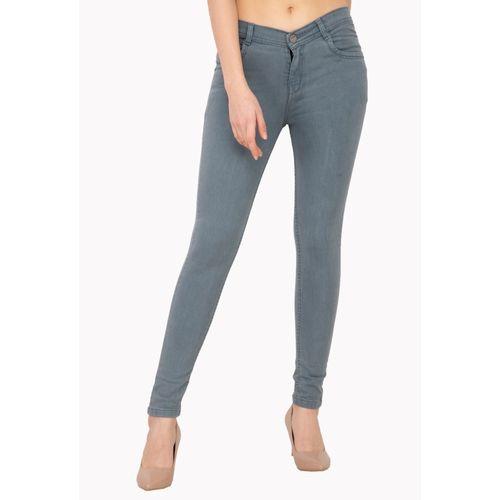 AAKRITHI Skinny Women Grey Jeans