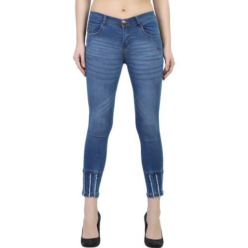Luxsis Skinny Women Blue Jeans
